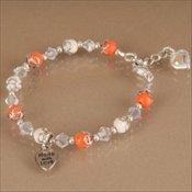 Bracelet with Bead Caps