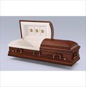 Warren Oak Wood Casket