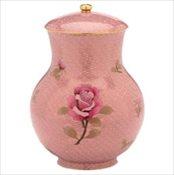 Dusty Rose Cloisonne' Full Size Urn