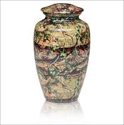 Camouflage Urn