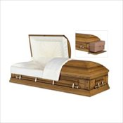 Norwood Oak Rental Casket