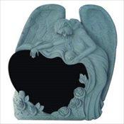 Angel Draped Over Heart