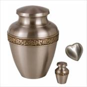 Majestic Pewter Urn