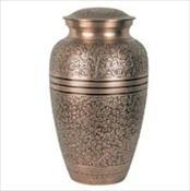 Copper Oak Urn