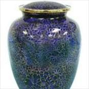 Indigo Cloisonne Urn