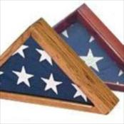 Premium Wood Flag Case