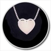 Sterling Silver Sliding Heart Companion