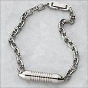 Titanium Bracelet with Long Wide Band