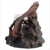 Eagle In Flight Urn