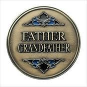 LifeStories Keepsake Medallion - Father / Grandfather