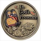 LifeStories Keepsake Medallion - Butterfly