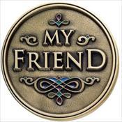 LifeStories Keepsake Medallion - My Friend