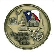 LifeStories Keepsake Medallion - Texas