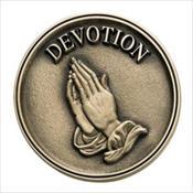 LifeStories Keepsake Medallion - Praying Hands