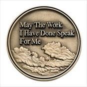 LifeStories Keepsake Medallion - May The Work