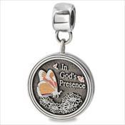 LifeStories Medallion Bead - Butterfly