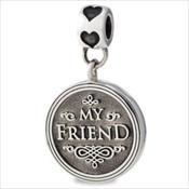 LifeStories Medallion Bead - Friend
