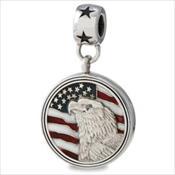 LifeStories Medallion Bead - Eagle