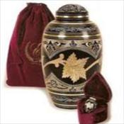 Maple Leaf Urn