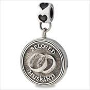LifeStories Medallion Bead - Husband