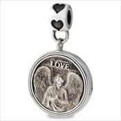 LifeStories Medallion Bead - Angel