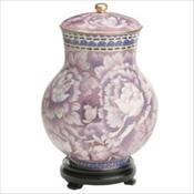 Purple Floral Cloisonne