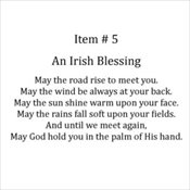 5 - Irish Blessing