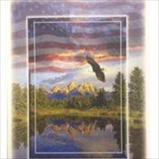 Stock Memorial Folders - Patriotic