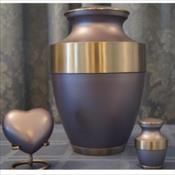 The Linius Starlight Blue Urn