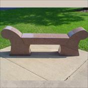 Three Piece Heritage Memorial Bench