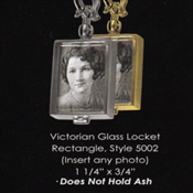 Victorian Glass Locket