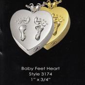 Baby Feet Heart