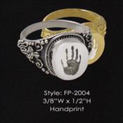 Handprint ring