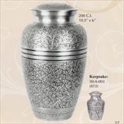 Silver Oak - Brass Urn