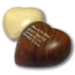 Wood Heart Keepsakes