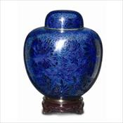 The Blue Cloisonne with Memory Holder