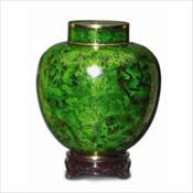 The Green Cloisonne wiht Memory Holder