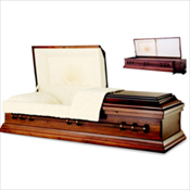 RENTAL: Wellington Poplar Cremation Casket ...... $1,050