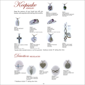 Cremation/Remembrance Jewelry