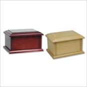 Tradition Solid Oak or Hardwood Urn