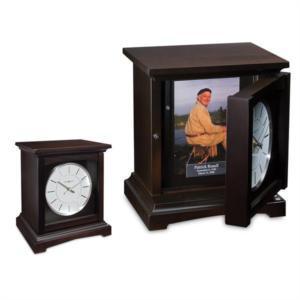 Cocoa Mantel Clock