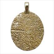 Standard Gold Pendant
