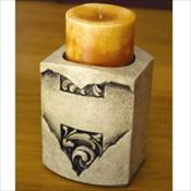 Forever In Our Hearts Cultured Stone Keepsake Candle Holder