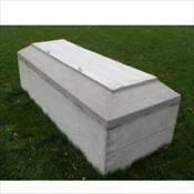 Concrete Grave Box
