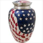 American Flag Urn