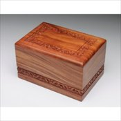 Solid Rosewood Urn