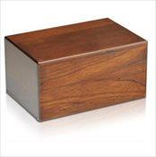 Wood Grain Urn