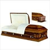 RENTAL: Norwood Oak Cremation Casket ...... $ 950