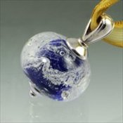 Swirling Galaxy - Blue
