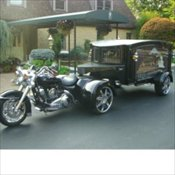 Motorcycle Hearse for the  Enthusiast